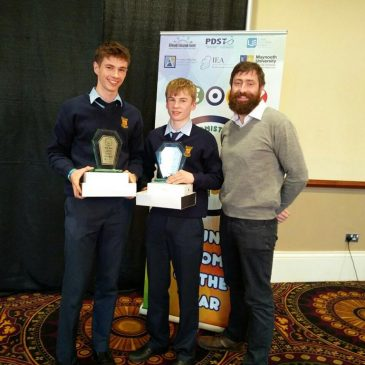 TY students awarded with 1st place in YEOTY2016