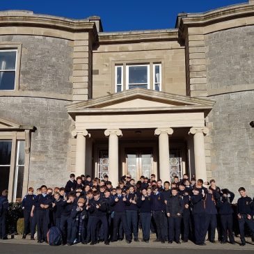 1st Years on Retreat in Mount St Anne's