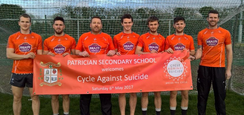 Cycle Against Suicide Launch