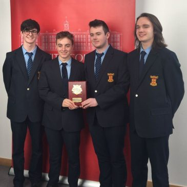 Senior Debate Team Victorious as TY's Debut Well at Griffith College