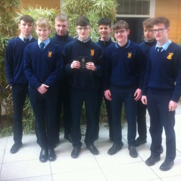 "2016 Junior Cert Business Studies ""A"" Students Receive UCD Award"