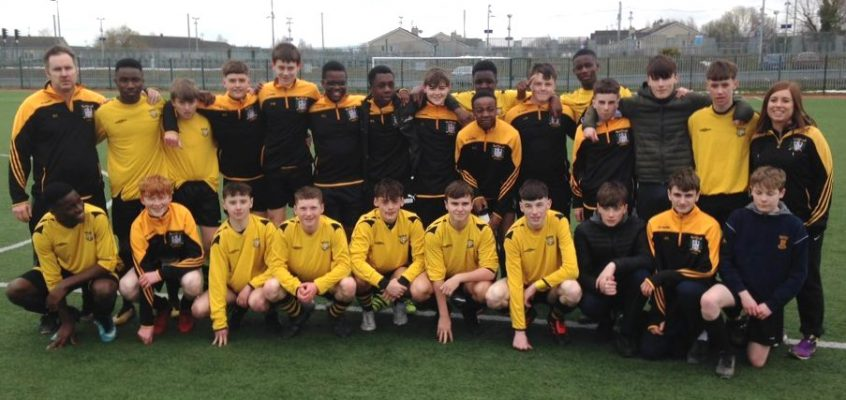 U15 Soccer Qualify For Leinster Minor Cup Final