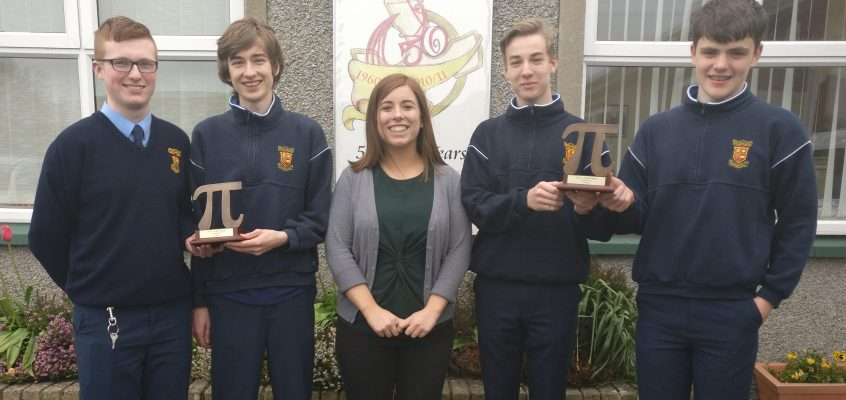 Irish Maths Teachers Association Winners