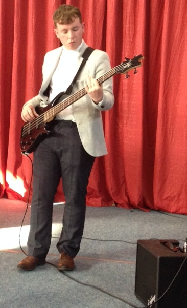 Conor Cassidy on bass.