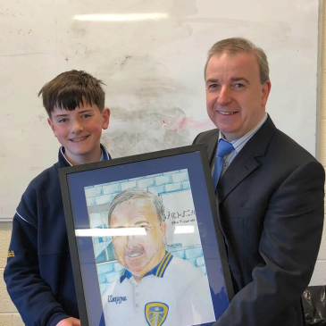 Students Council Presentation to Mr O'Leary