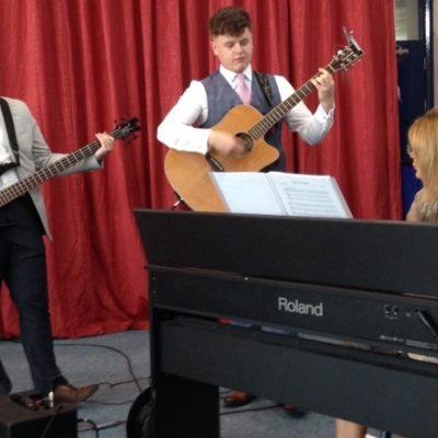 Ms Loughran, Jack Monahan & Conor Cassidy accompanied Kyle