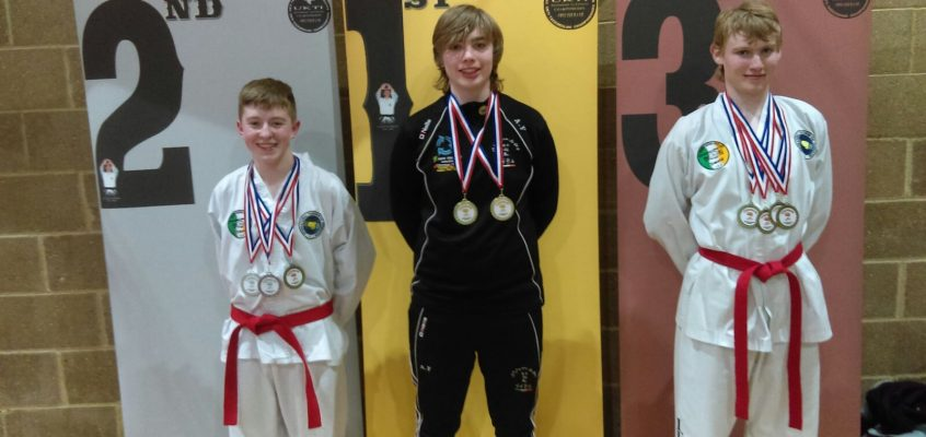 Patrician Students Win Tae Kwon-Do Medals