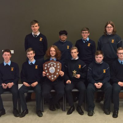 Junior Science award winners