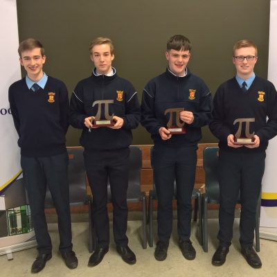 Junior Pi Maths team winners