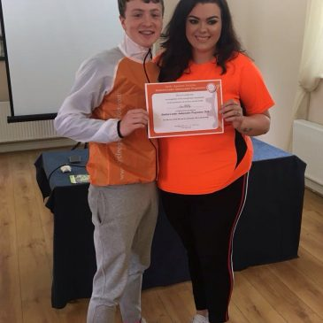 Seán Molloy named as CAS Student Leader
