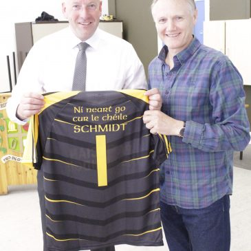 Joe Schmidt Visit