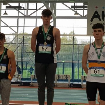 3rd Year Alex O'Shea Claims All-Ireland Silver