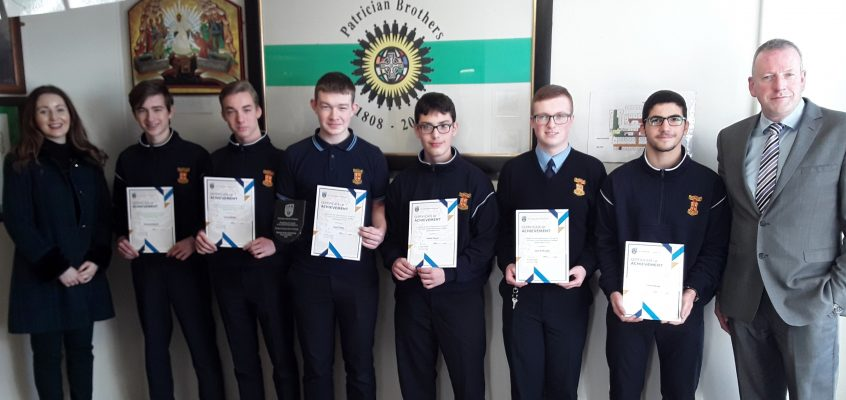 7 Students Receive Business Awards from Irish Universities