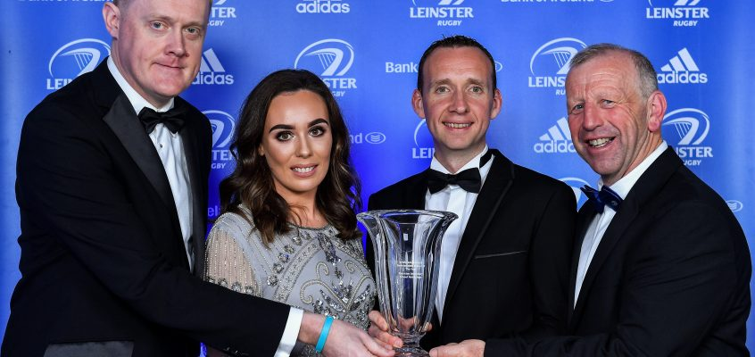 Fantastic Year on Rugby Field Sees Us Win Leinster Rugby Development School Award
