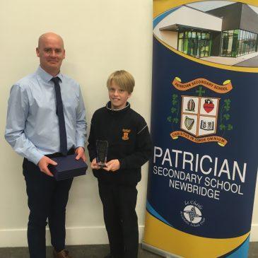 1st Years Celebrate with Gradam Acadúil Awards