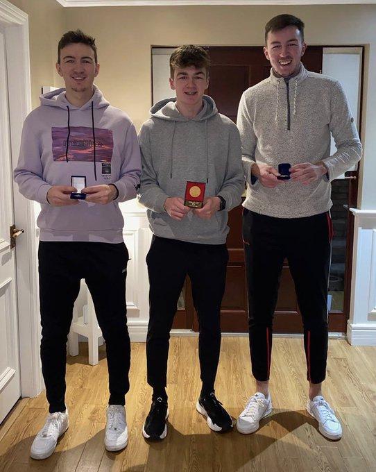 McHugh brothers (Darragh, Cian & Conor)
