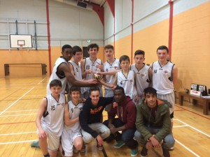 Basketball Champions u16 in 2013