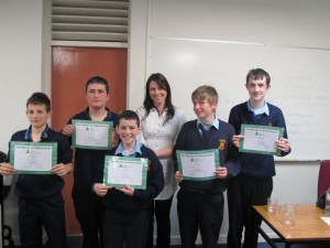 Junior Achievement Certificates 2011