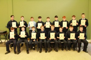 1st Year Gradam Acadúil recipients