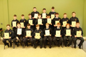 2nd Year Gradam Acadúil recipients