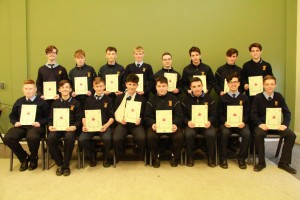 3rd Year Gradam Acadúil recipients