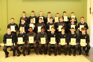 6th Year Gradam Acadúil recipients